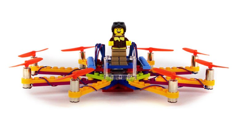 Flybrix lets you build your own drone out of LEGO bricks