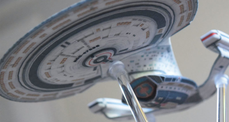 You will soon be able to buy licensed 3D printed models of Star Trek spacecraft