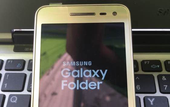 Samsung's next bonkers Android flip-phone is pictured in latest leaks