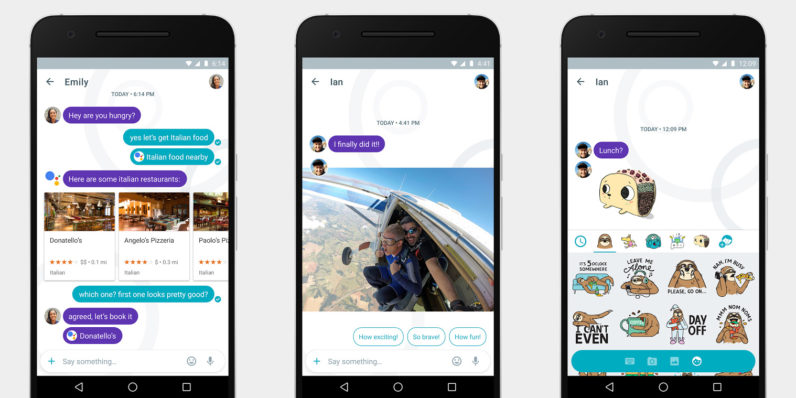 Google might launch its AI-powered Allo messaging app this week