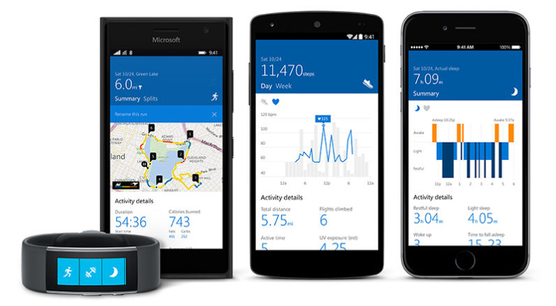 Microsoft renames its Health app to Band, for some reason