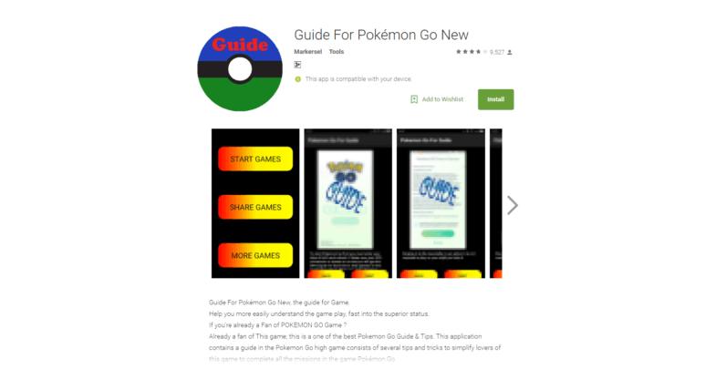 Fake Pokémon Go apps are crammed full of malware
