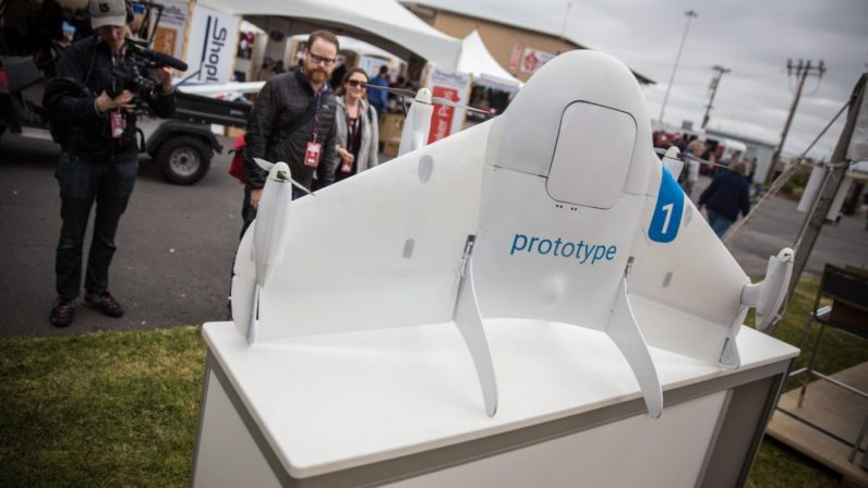 Google's Alphabet Wing drones will deliver burritos to students at Virginia Tech University
