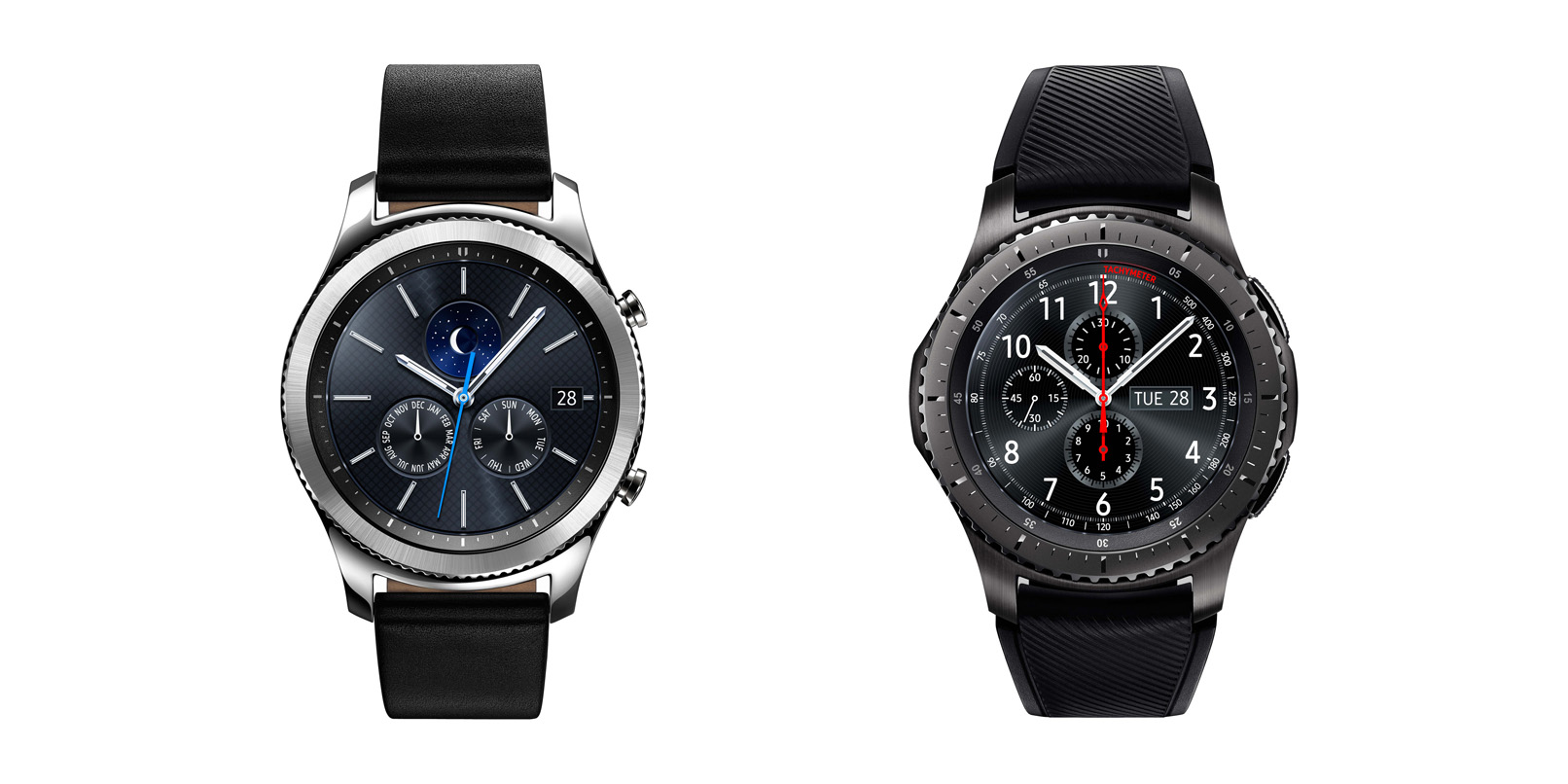 Samsung's new Gear S3 smartwatches pack GPS and LTE