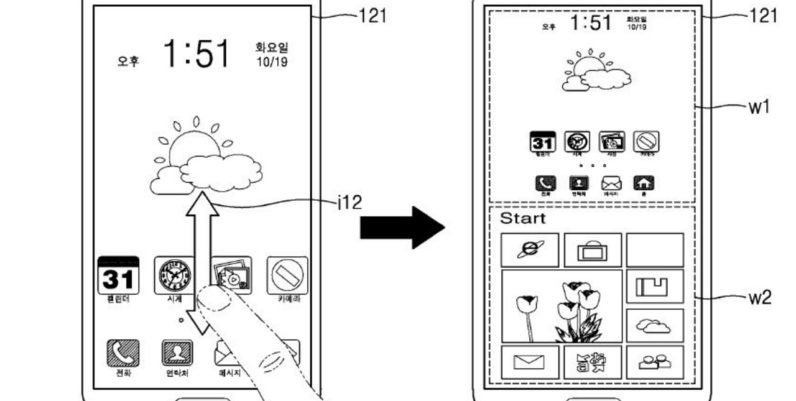 Samsung patents a phone that runs Android and Windows side-by-side