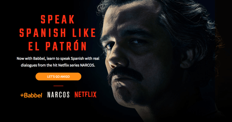 Babbel and Netflix want to teach you to speak Spanish like a