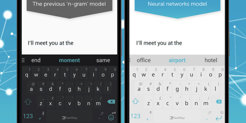 SwiftKey improves its Android keyboard predictions with neural networks