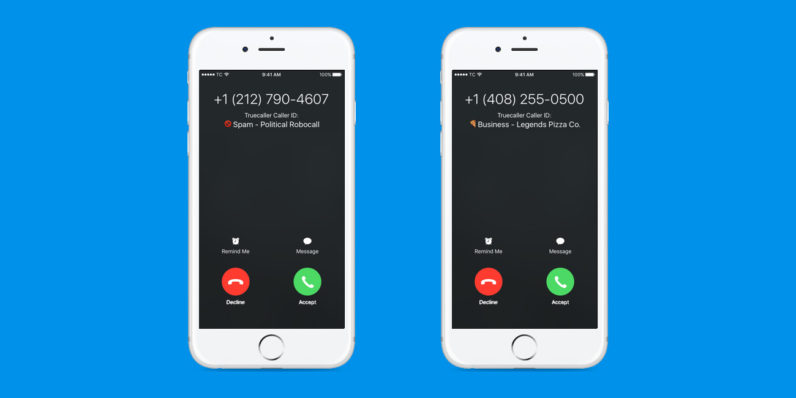iphone caller id truecaller is bringing spam caller id to the iphone 11676