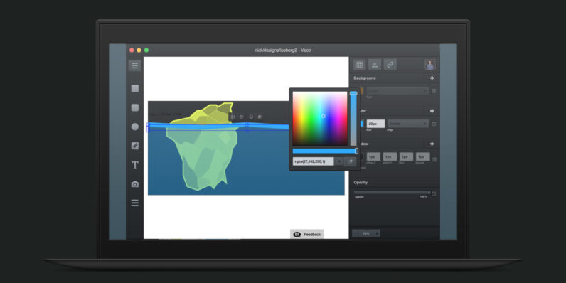 Vectr is an excellent free cross-platform graphics app you can learn to use in minutes
