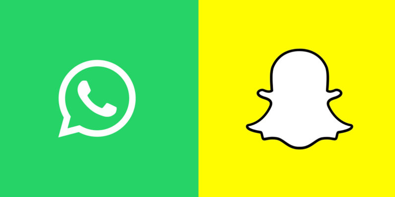 WhatsApp straight up copies Snapchat's drawings and stickers