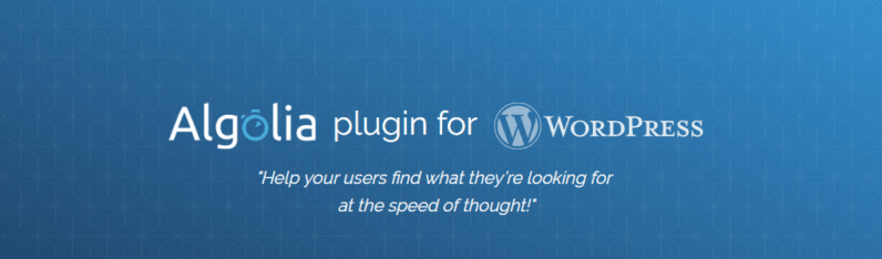Cloud search as a service company, Algolia, releases their free WordPress plugin to improve search