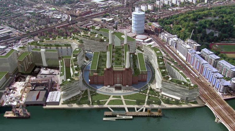 Apple is building a huge new London HQ at Battersea Power Station
