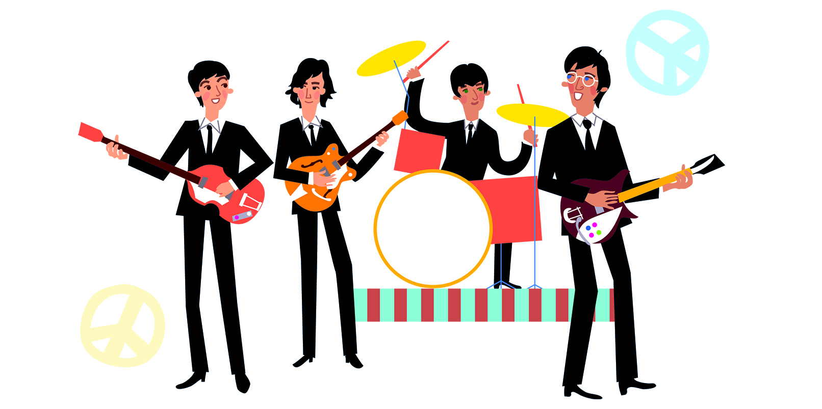 Check out this Beatles-inspired song written entirely by AI