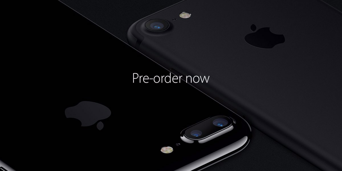 The iPhone 7 will be available on September 16
