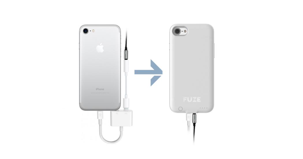 Fuze Case is bringing the headphone jack back to the iPhone 7