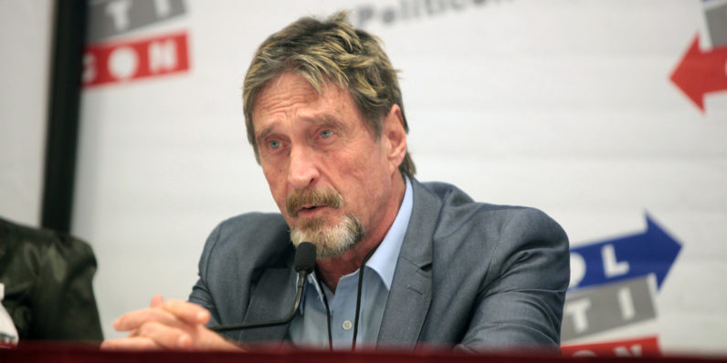 John McAfee takes Intel to task (and court) for blocking usage of his own name