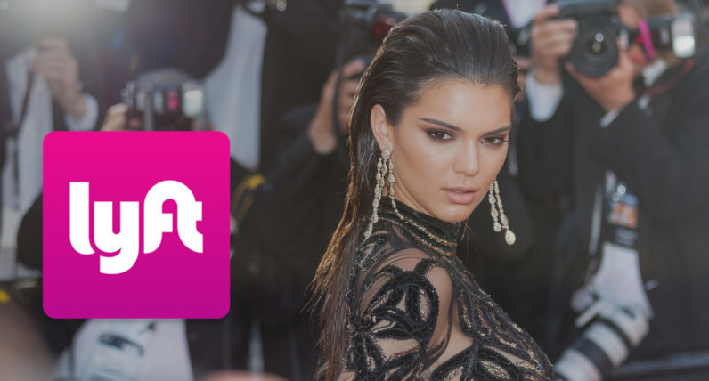 Lyft lures millionaire supermodel with free rides after Uber bans her