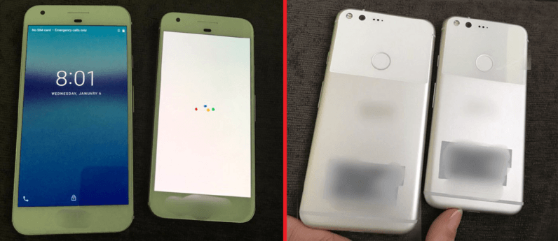 Photo leak reportedly shows Google's Pixel and Pixel XL