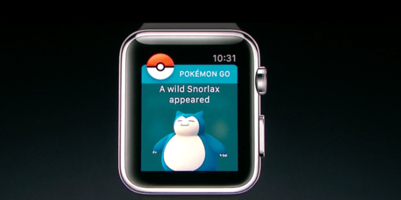 Pokémon Go is coming to the Apple Watch