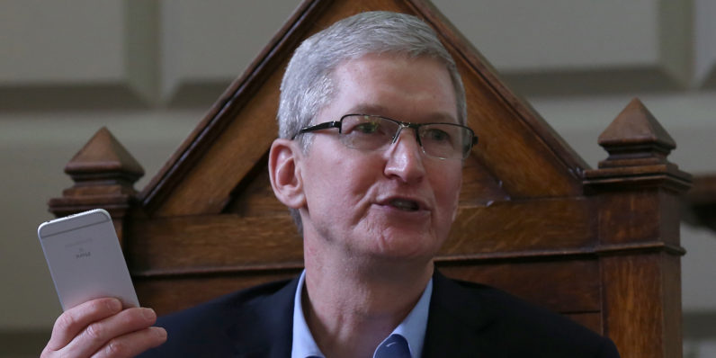 Apple CEO calls Irish tax ruling 'total political crap'