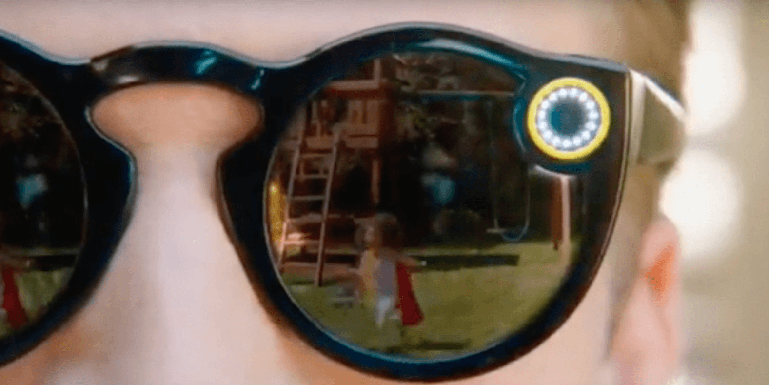 5d6cba480d Leaked video could offer details on Snapchat s secret glasses project   Update  They re official!