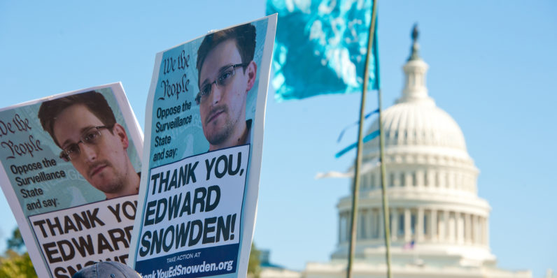 ACLU seeks an Obama pardon for NSA whistleblower Edward Snowden