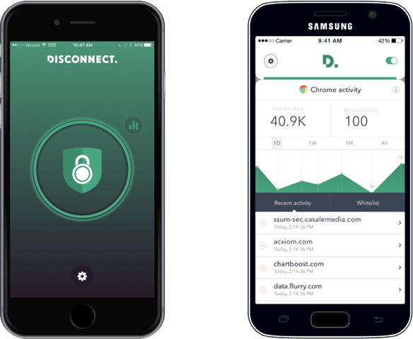 Disconnect is free for Samsung and iOS devices for the next seven days
