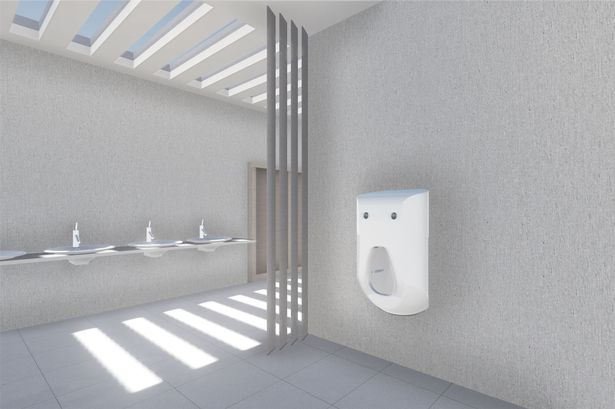 This smart urinal will clean your dick entirely hands-free