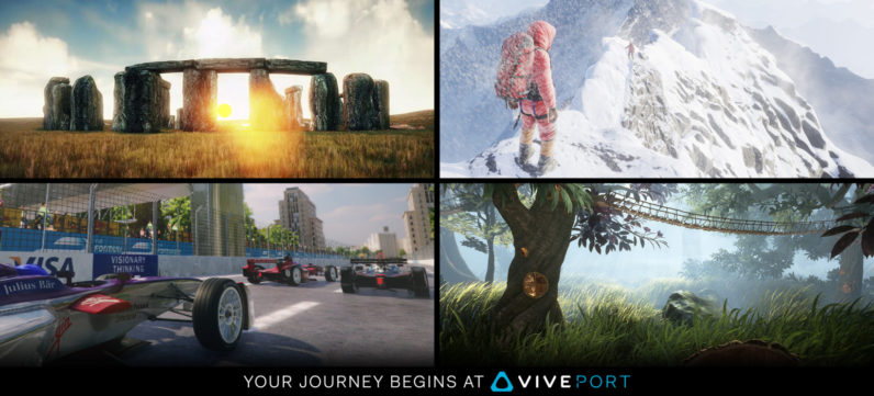 HTC's Viveport VR app store is now available worldwide