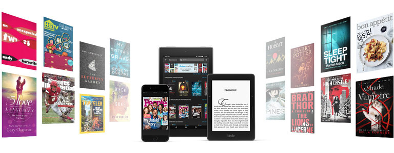 Amazon bundles 1,000+ books and magazines into your Prime subscriptions