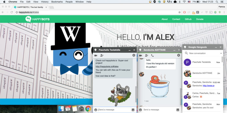 Bring back Google Hangouts' floating chat windows in Chrome