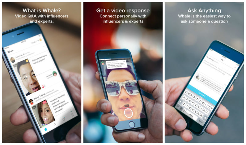 Whale is the latest app from twitch.tv founder Justin Kan