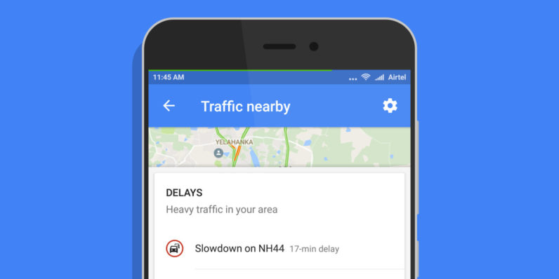 Abc Traffic Map.Google Maps For Android Adds A One Tap Shortcut To View Traffic
