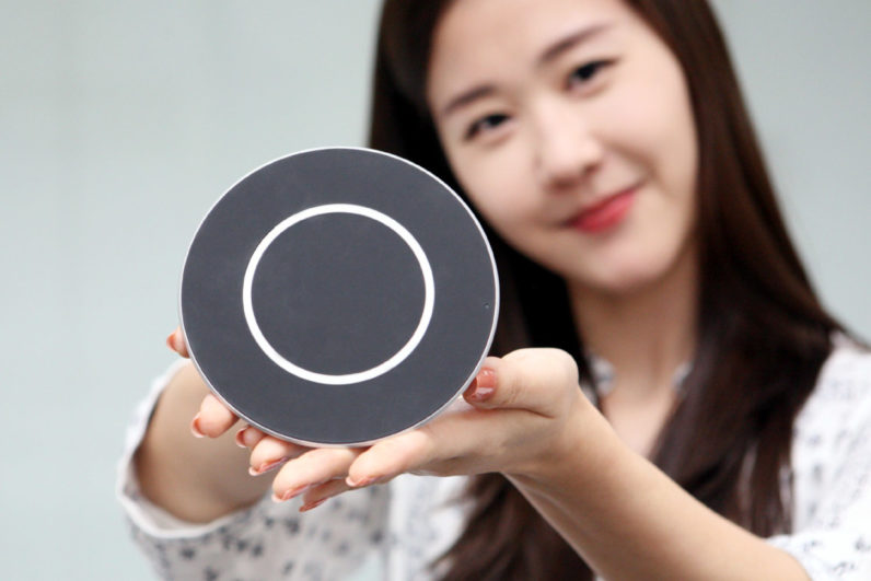 LG's new wireless charging pad powers your phone at lightning speeds