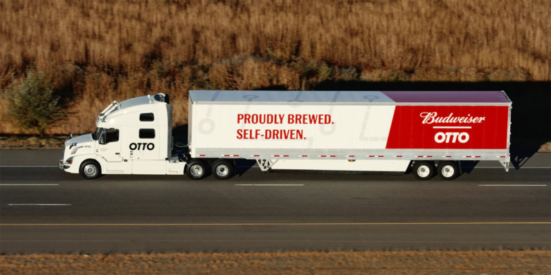 Uber's self-driving trucks are now hauling beer