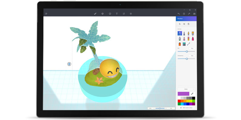 Microsoft Paint gets a massive update with new tools for 3D art