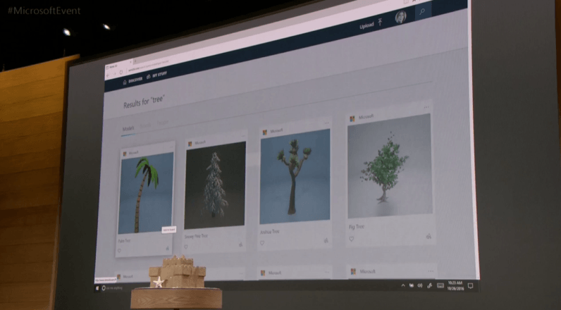 Microsoft announces Remix3D web community for the new Paint app