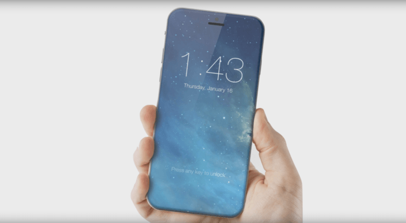 The iPhone 8 Plus could feature a 5.8-inch curved, edge-to-edge display