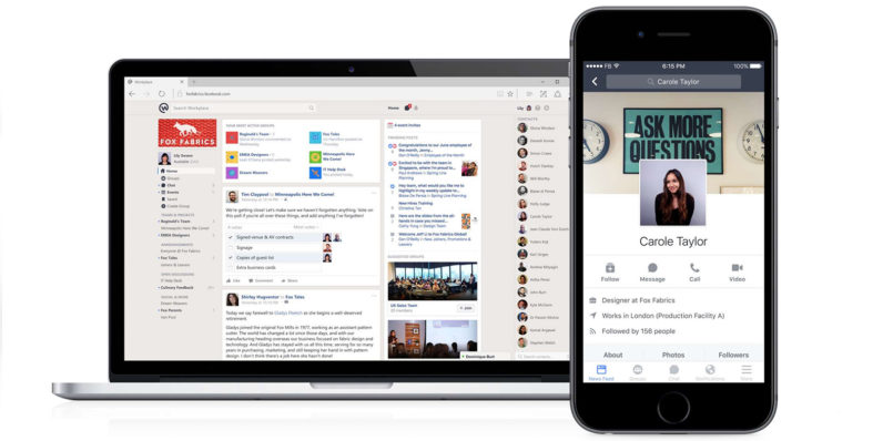 Facebook launches Workplace – its attempt at a 'Slack for Enterprises'
