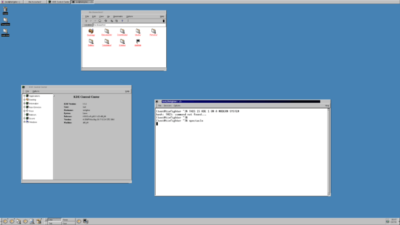 Make your Linux desktop look like it's from 1998 with the KDE Restoration Project