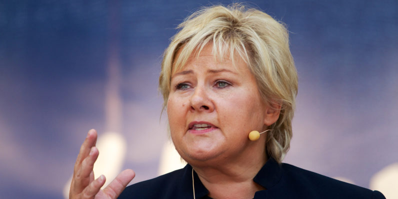 Norway's Prime Minister busted playing Pokémon Go in parliament