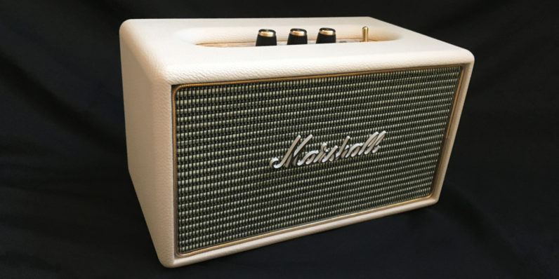 Marshall 'Acton' speaker: Small in stature, but packing serious punch