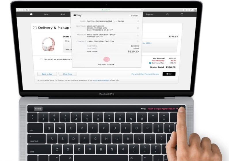 Apple just leaked the new MacBook Pro, including that OLED touch panel