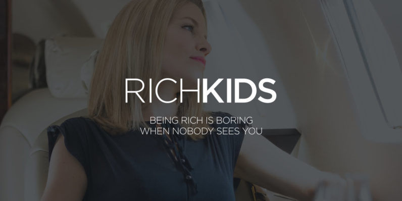 rich kids social network