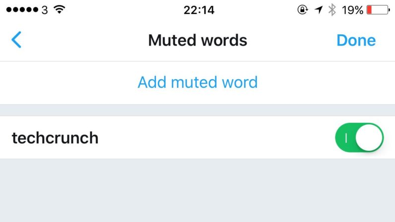 twitter, mute feature, hashtags