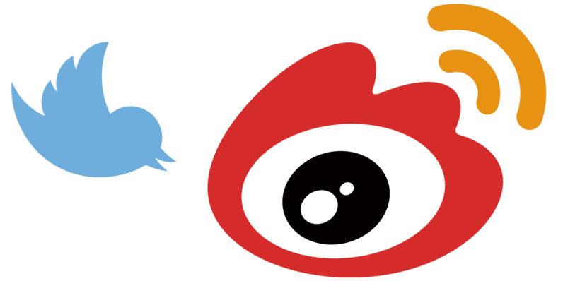 twitter, weibo