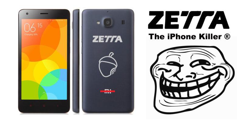 zetta, iphone, xiaomi