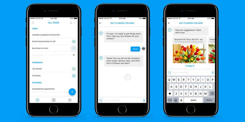 Any.do's to-do app will use AI to complete your tasks for you