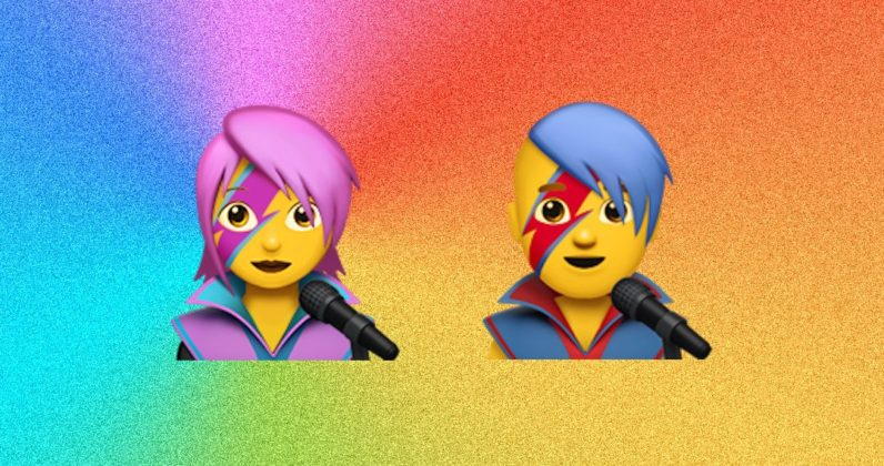 iOS 10.2's Bowie emoji isn't actually him (but it totally is)