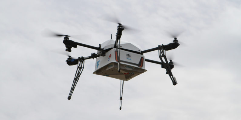 Domino's begins delivering pizza by drone in New Zealand